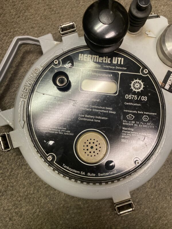HERMETIC UTI TAPE MK3 LBI UNI - GT3 CLOSED GUAGING GAS TIGHT ENARF TANK SYSTEMS