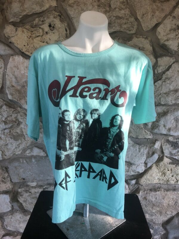 Heart Def Leppard Alice In Chains Carrie Underwood Dave Navarro tour shirt Large