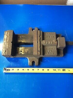 Vintage Yost Manufacturing Company No. 2d Drill Press Vise