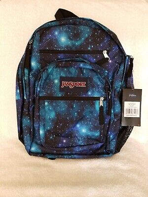 JANSPORT BIG STUDENT GALAXY  BACKPACK NWT