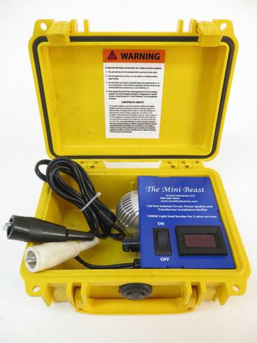 HJ Arnett The Mini Beast: HJA-469-M - 8 Amp Tester Isolate street light ballasts