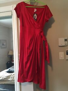 New red dress- une robe rouge