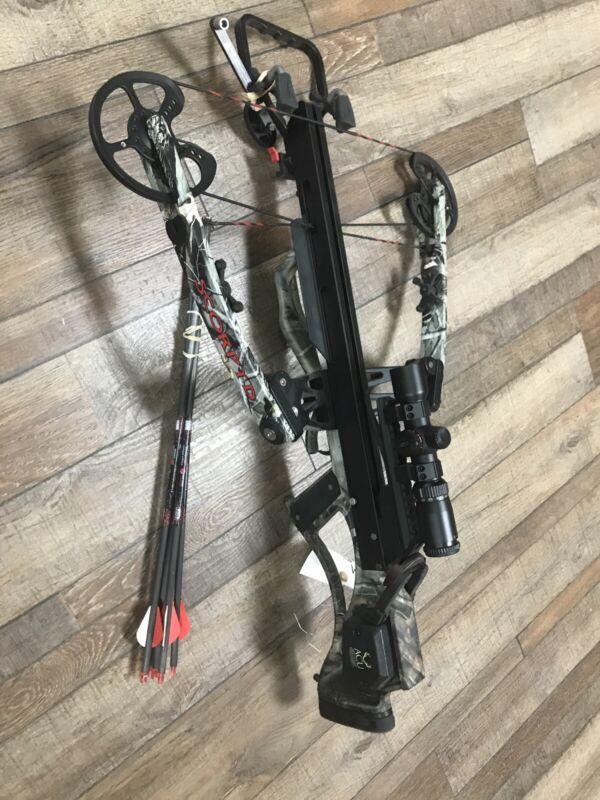 Scorpyd orion extreme 160 crossbow w/ Accudraw Hawke scope