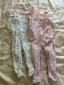 4x Bonds jumpsuits onesies girl size 0 6-12 months Dural Hornsby Area Preview