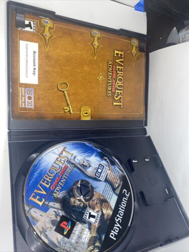 EverQuest Online Adventures PS2 Sony PlayStation 2 Video Game  - $5.10