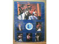 1984 Duran Duran Bi Rite Simon Lebon  vintage wall poster rolled  PBX1880