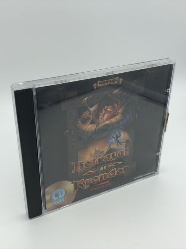 Computer Games - 1994 Betrayal at Krondor - PC Computer CD Video Game by Sierra RARE in Case!