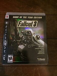 Fallout 3 Game of the Year Edition PS3 Coomera Gold Coast North Preview