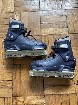 Salomon St Seventy Blue Aggressive Inline Skates Rollerblades Mens Size 11
