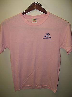 Cocoa Beach Florida USA Hilton Oceanfront Hotel Resort Blue Energy T Shirt Small