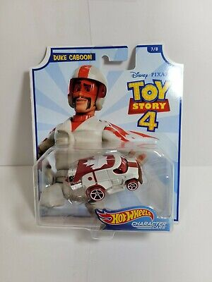 Hot Wheels Toy Story 4 Duke Caboom Character Car by Disney and Pixar 7 of 8