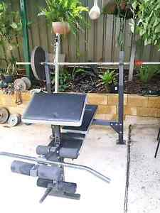 Weightlifting bench & 150kg weights.Dump bells & serval bars Blacktown Blacktown Area Preview
