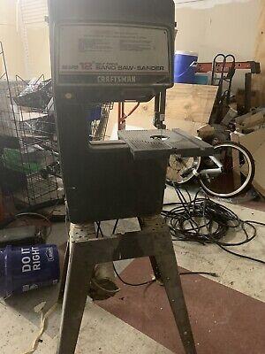 Craftsman Model 113.243311 12 Saw-sander 12 Table 120v 1ph Drive 20 Blade
