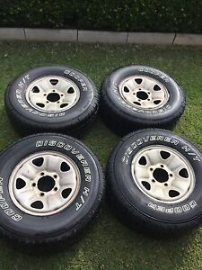 Cooper discovery H/T tyres on 5 stud landcruiser rims Frenchs Forest Warringah Area Preview
