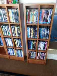 Bookcase / Bookshelf / dvd cabinets Kingswood Penrith Area Preview