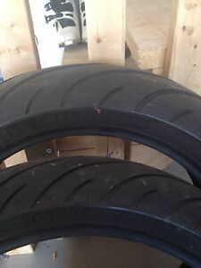 Few sets of used sport bike tires for sale...$60.00 a set