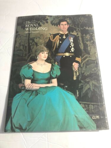 THE ROYAL WEDDING OFFICIAL SOUVENIR BOOK, CHARLES AND DIANA, 1981