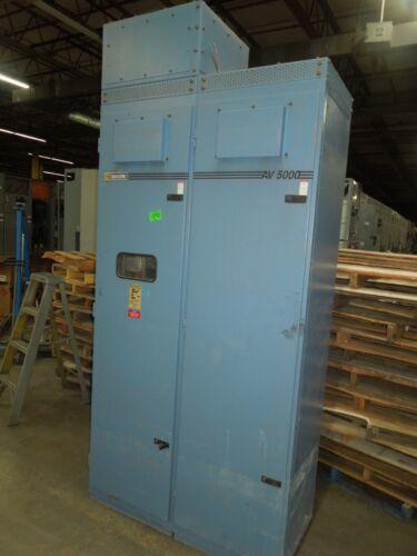 Square D ReactiVar AV5000 Automatic Power Factor Capacitor 400kVAR 3ph 480V 480A