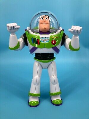 Disney Pixar Buzz Lightyear Action Figure Works - No Wings for sale  Shipping to India