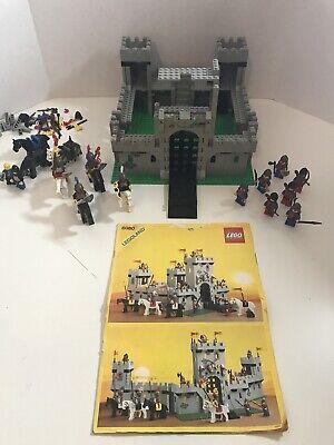 Vintage Lego Legoland 6080 King's Castle Set 1984 ~Near Complete ~Please Read