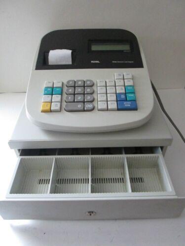 Royal 435dx Electronic Cash Register with No Keys - WORKS!!!