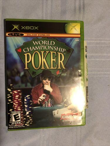 World Championship Poker Microsoft Xbox Video Game - $9.98