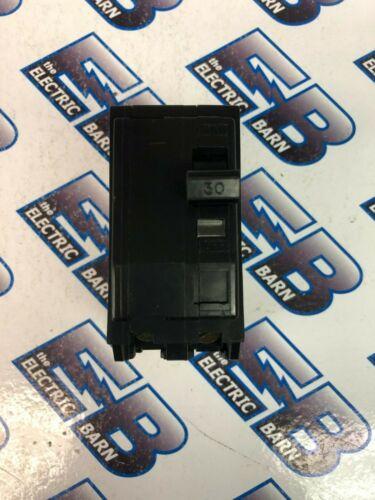 Square D QOB230, 30 Amp, 240 Volt, 2 Pole, Black Circuit Breaker- WARRANTY