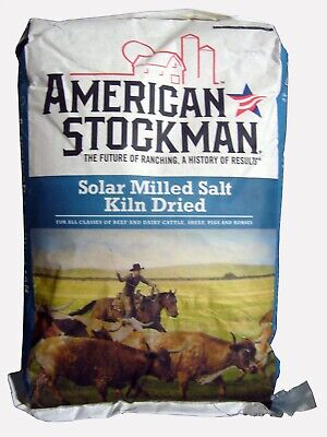 Sodium Chloride Solar Milled Salt Kiln Dried Nacl98 White Solid 50 Lb Bag