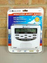 Midland Emergency Weather Alert Radio with Alarm Clock WR-120 Trilingual