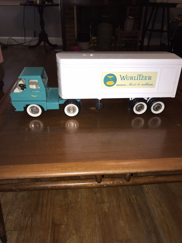 Vintage Structo Wurlitzer Means Music To Millions Promotional Truck Very Rare