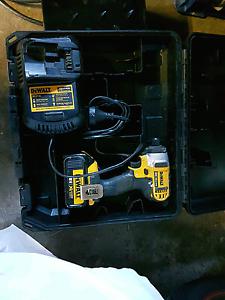 DEWALT 18vCordless Impact Driver 3.0Ah Li-ion Battery &  Charger Botany Botany Bay Area Preview