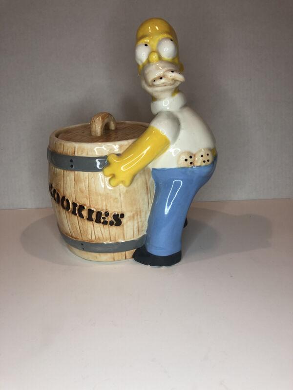 Vintage Homer Simpson Cookie Jar