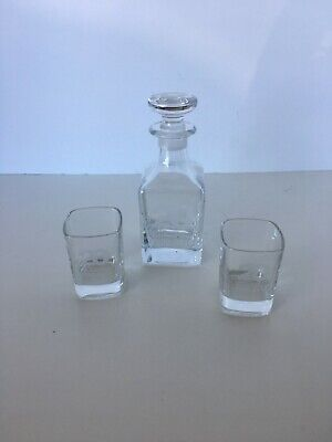 Rolls Royce_Rolls Wood Group Decanter and 2, 2 ounce Shot Glasses 1990-2010