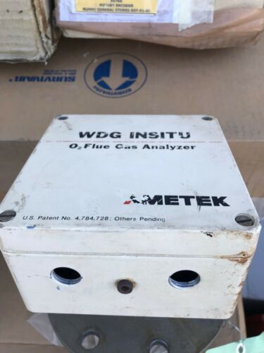 Ametek WDG INSITU O2 Flue Gas Analyzer Oxygen - Refurbished