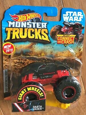 Toy Monster Truck (2019 HOT WHEELS STAR WARS DARTH VADER MONSTER)