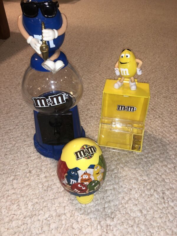 M&M Memorabilia Set Of 3