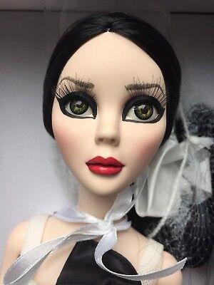 """Tonner Wilde Imagination EVANGELINE GHASTLY DARK ANGEL 18.5"""" FASHION Doll NRFB"""