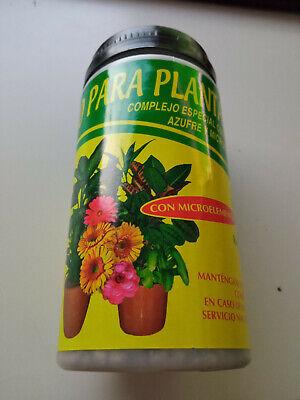 Abono plantas en bolitas con magnesio, azubre y microelementos 200 gramos