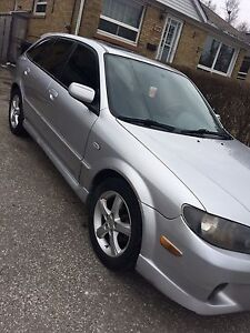2003 Mazda protege 5 fully loaded e tested