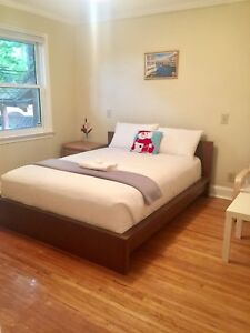 Bright, nice room for short term rental