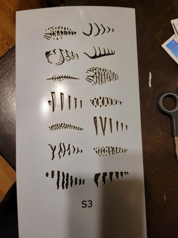 Lure Stencil S3 Crankbaits