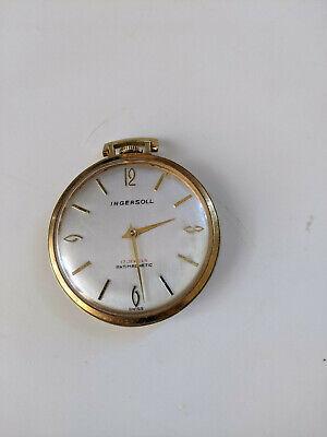 Ingersoll 17 Jewels Antimagnetic Swiss Pocket Watch.