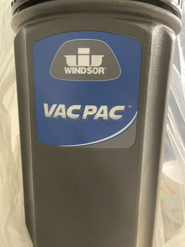 Vac Pac HEPA Vacuum Backpack  10qt With Hose and accessories.