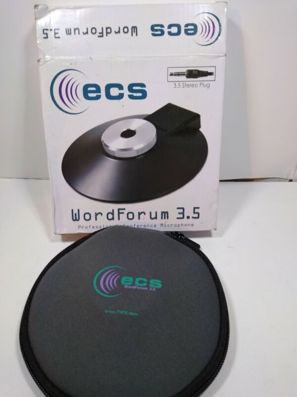 WordForum 3.5 mm 360° Stereo Conference Microphone - Omni-Directional