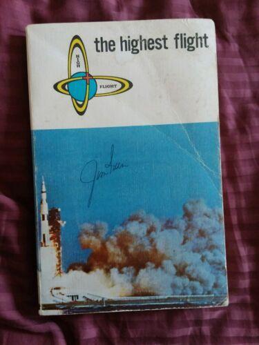 Rare New Testament autograph James Irwin Apollo 15 astronaut Moon walker (d. 199