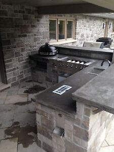 Outdoor Concrete kitchens,bartops