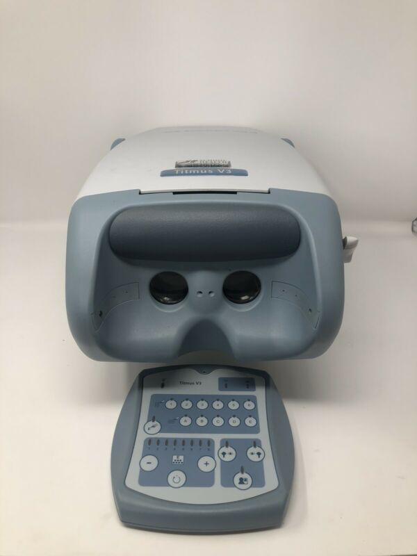 Honeywell Titmus v3 Vision Screener with Control Pad & Carrying Case