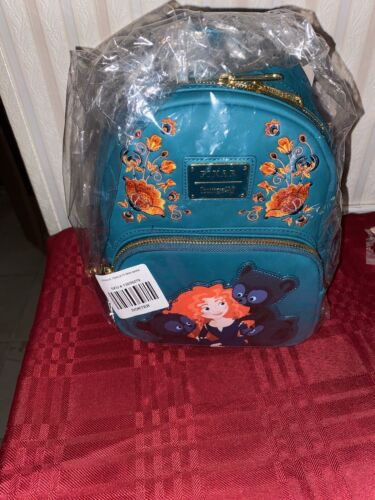 Loungefly Disney Pixar Brave Triplets Mini Backpack New With Tags