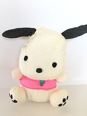 Pochacco Vintage Sanrio Plush Nylon Dog Doll 7""