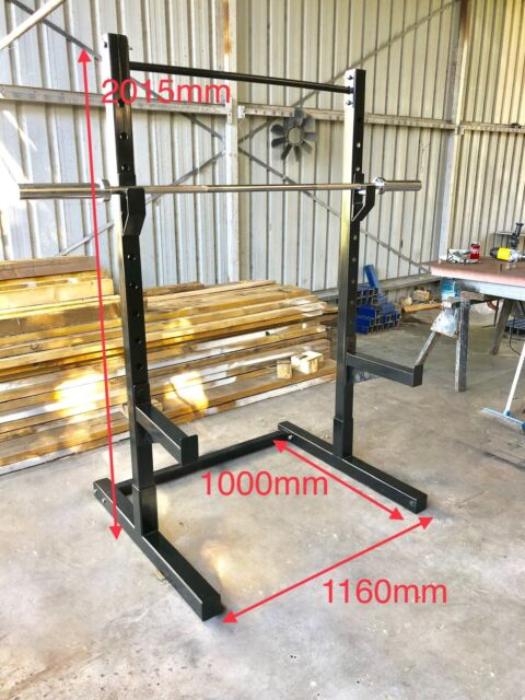 Squat Bench Rack Price Inc Spotters Delivery And